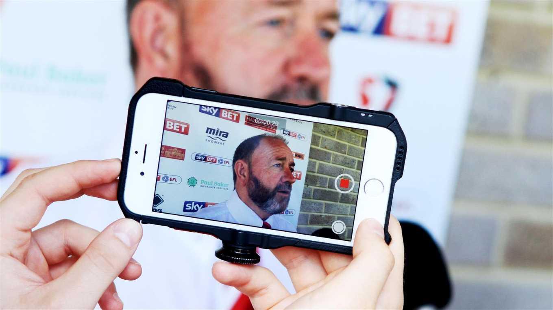 ROBINS TV: Gary's reaction to the win over Crewe - News - Cheltenham