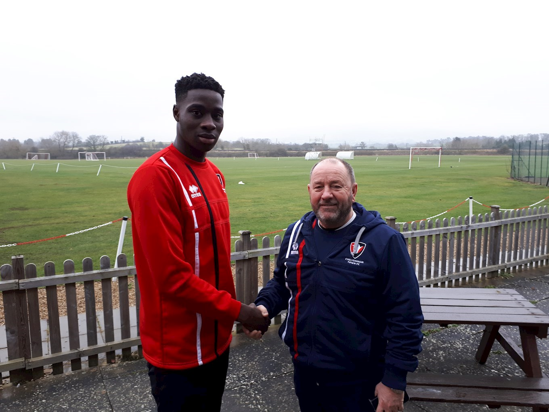 New signing: Elijah Adebayo - News - Cheltenham Town FC