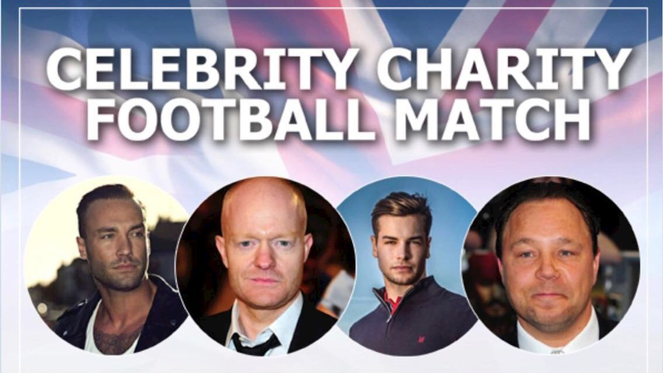 This March Special Celebrity Charity Match At Robins News